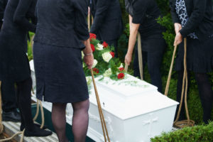 How are Caskets Buried?