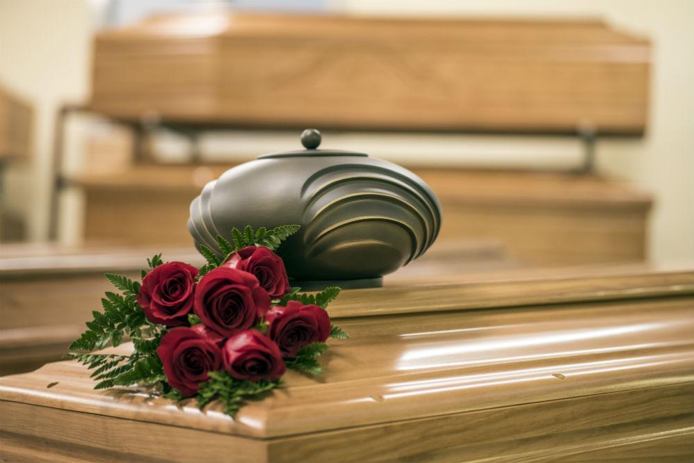 Love of Christ Silver Brass Metal Cremation Urn